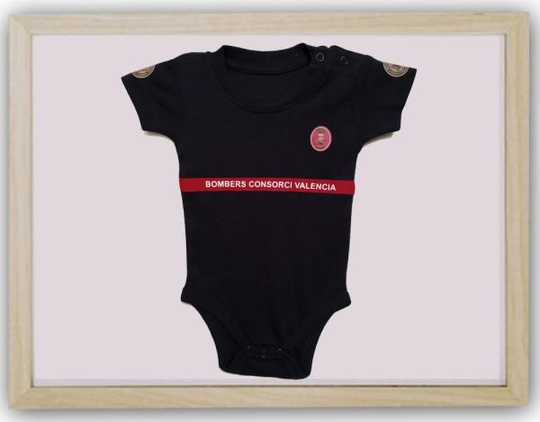 Body bebé cuerpo bomberos valencia delante