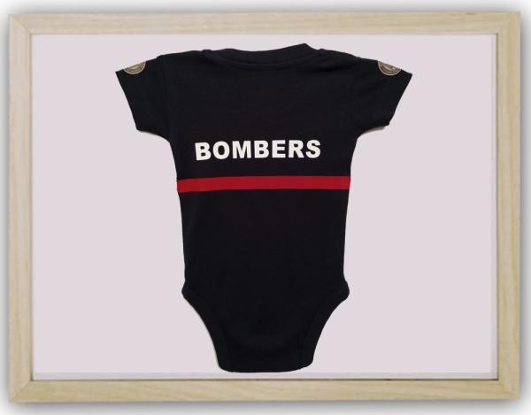 Body bebé cuerpo bomberos valencia detrás